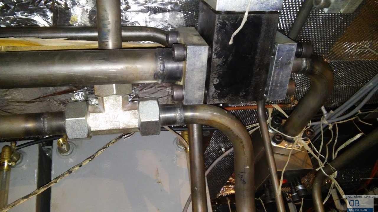 Изготовление и монтаж трубопроводов гидравлики для новостроя (два буксира)