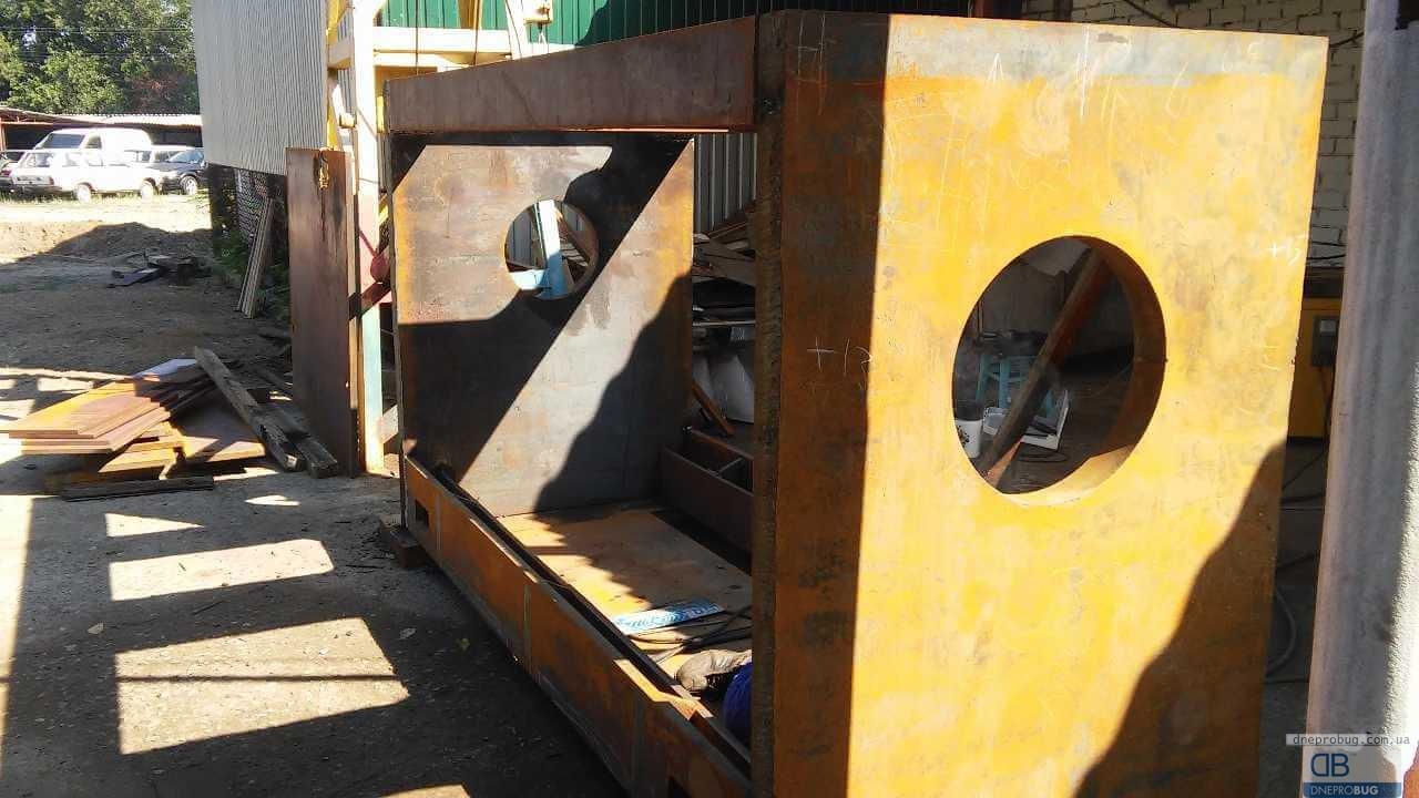 Изготовление маслопресса производительностью 500 тонн в сутки
