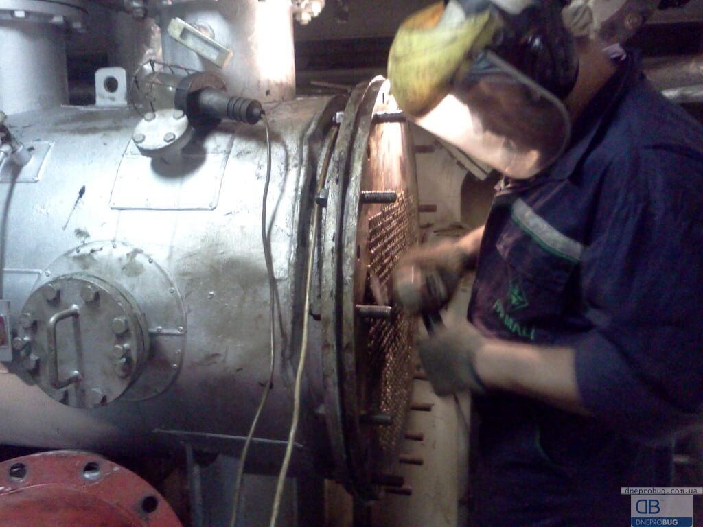 Ремонт сепаратора пара на танкере «HEYDAR ALIYEV»