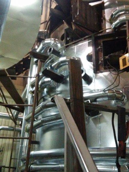 Изготовление жаровен для маслопресса. Диаметр 4000мм